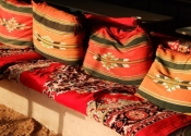 Bedouin pillows - Wadi Rum