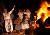 Bedouin music and dancing