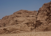 Burdah Rock Bridge - from very far