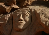 Lawrence rock carving - Wadi Rum