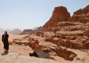 Rock view - Wadi Rum