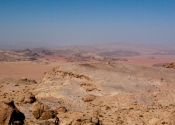 Jebel Al Hash - view from top