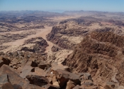 Jebel Um ad Dami - view from top