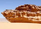Rock ship - Wadi Rum
