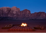 Sleep under stars - Wadi Rum