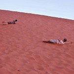Sand Dune Rolling Down